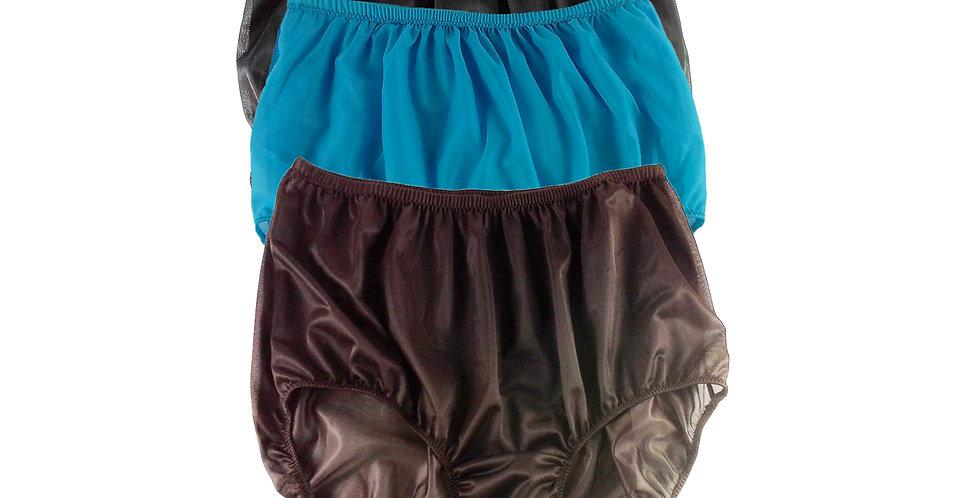 A28 Lots 3 pcs Wholesale Women New Panties Granny Briefs Nylon Knickers