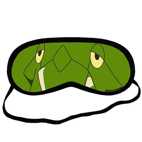 EYM155 Metapod Pokemon Go Eye Printed Sleeping Mask