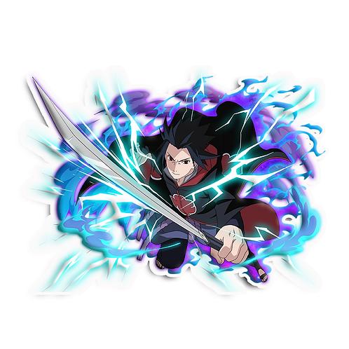 NRT495 Uchiha Sasuke Rinnegan Sharingan Naruto anime s