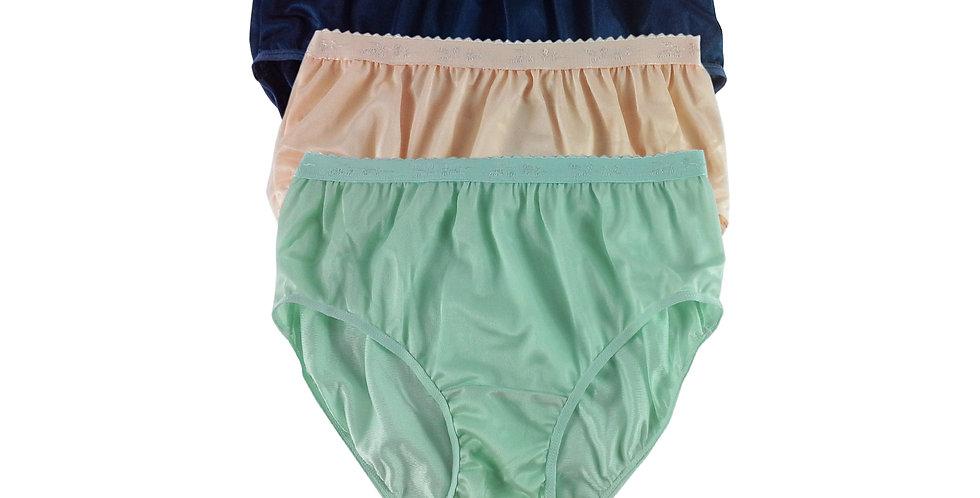 CKTK01 Lots 3 pcs Wholesale New Nylon Panties Women Undies Briefs