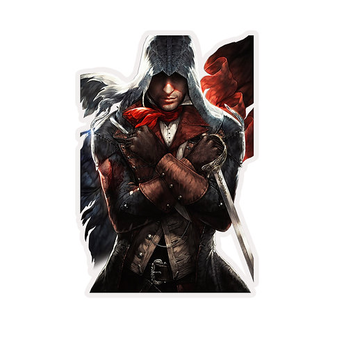 Anime Sticker Car Bumper Window Decal SACD018 Assasin's Creed