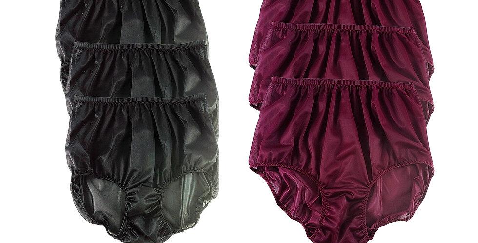 NSD04Lots 6 pcs Wholesale Women New Panties Granny Briefs Nylon Lingerie