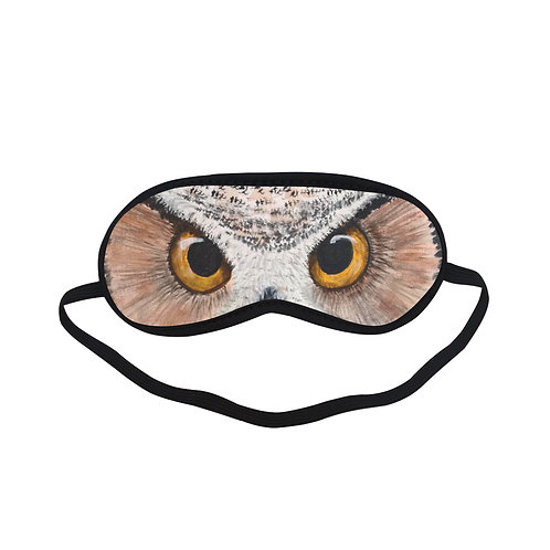 ATEM330 Owl Animal Eye Printed Sleeping Mask