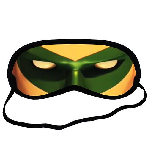 EYM654 Green Lantern Eye Printed Sleeping Mask