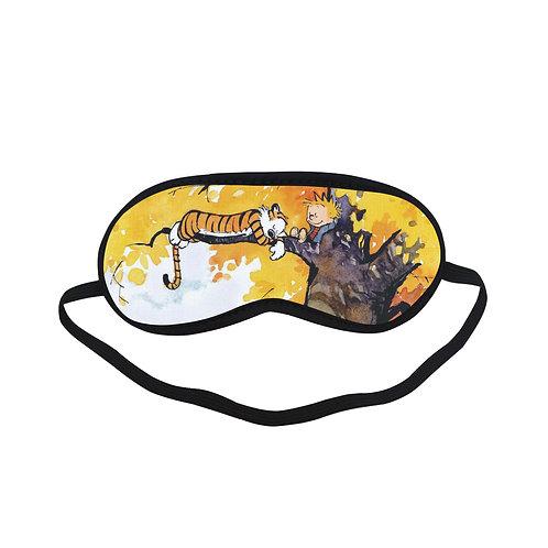 ITEM193 Calvin And Hobbes Eye Printed Sleeping Mask