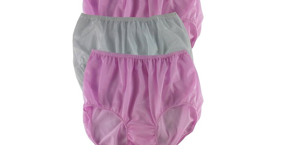 A146 Lots 3 pcs Wholesale Women New Panties Granny Briefs Nylon Knickers