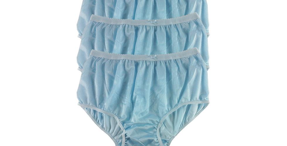 NYT blue Lots 3 pcs New Panties Wholesale Briefs Silky Nylon Men Women