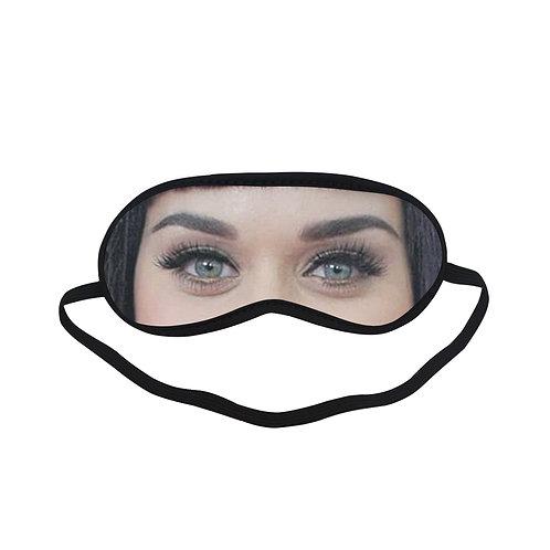 EOL210 Katy Perry Eye Printed Sleeping Mask