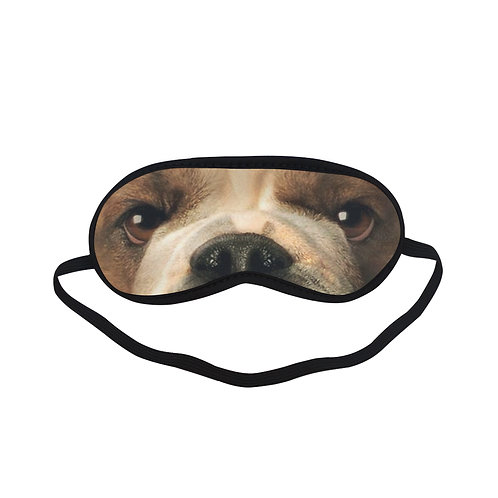 ATEM127 Bulldog dog Eye Printed Sleeping Mask