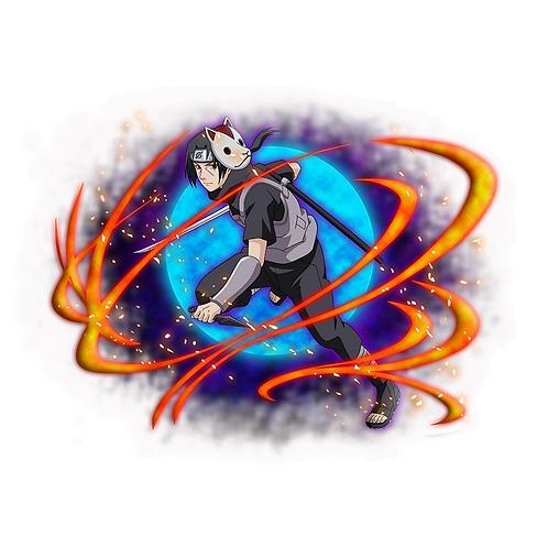 NRT438 Uchiha Itachi Akatsuki Sharingan Naruto anime s