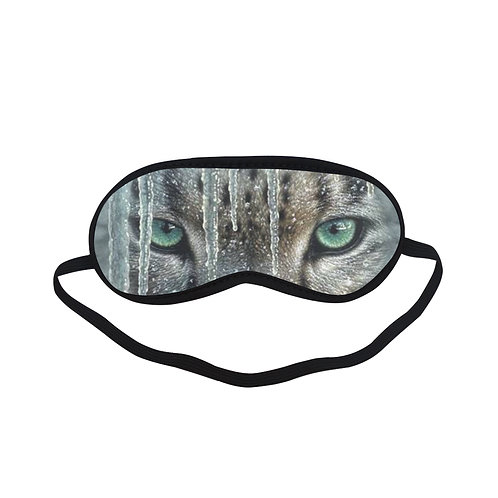 ATEM280 Icicle Snow Leopard Eye Printed Sleeping Mask
