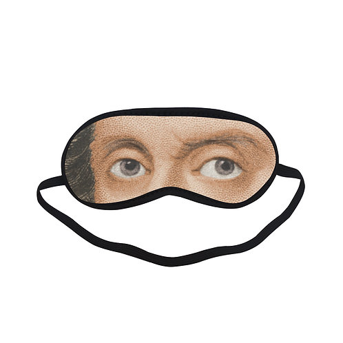 FTEM115 William Shakespeare Eye Printed Sleeping Mask