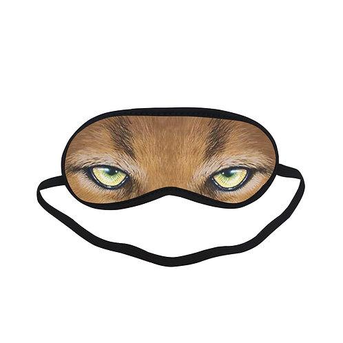 ATEM216A cougars Tiger Eye Printed Sleeping Mask