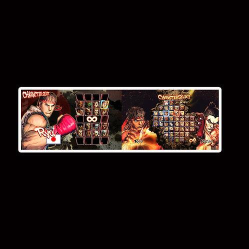 Slap Stickers Anime Stickers Decals Helmet laptops SLSF42 Street Fighter Game