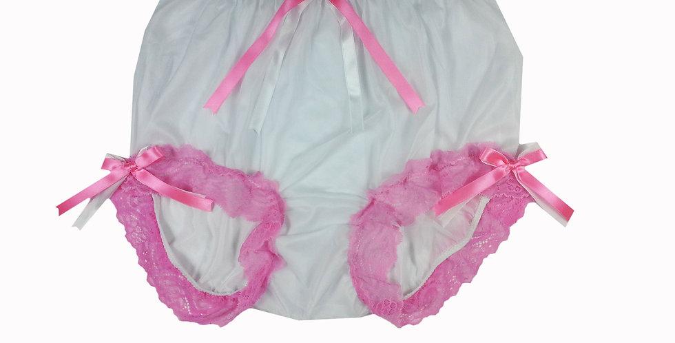 NNH11D31 Handmade Panties Lace Women Men Briefs Nylon Knickers
