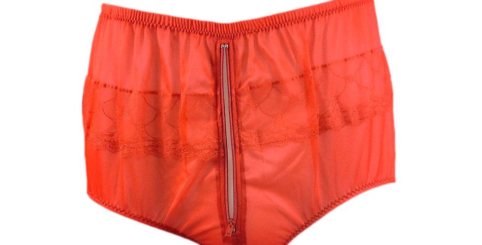 JYH03P01 red Handmade Nylon Panties Women Men Lace Knickers Briefs