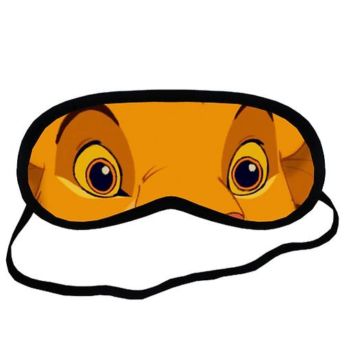 EYM1876 The Lion King Simba Eye Printed Sleeping Mask