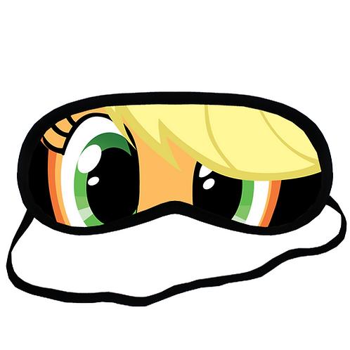 EYM060 My Little Pony Applejack Eye Printed Sleeping Mask