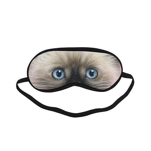 ATEM111 Cat kitten Eye Printed Sleeping Mask