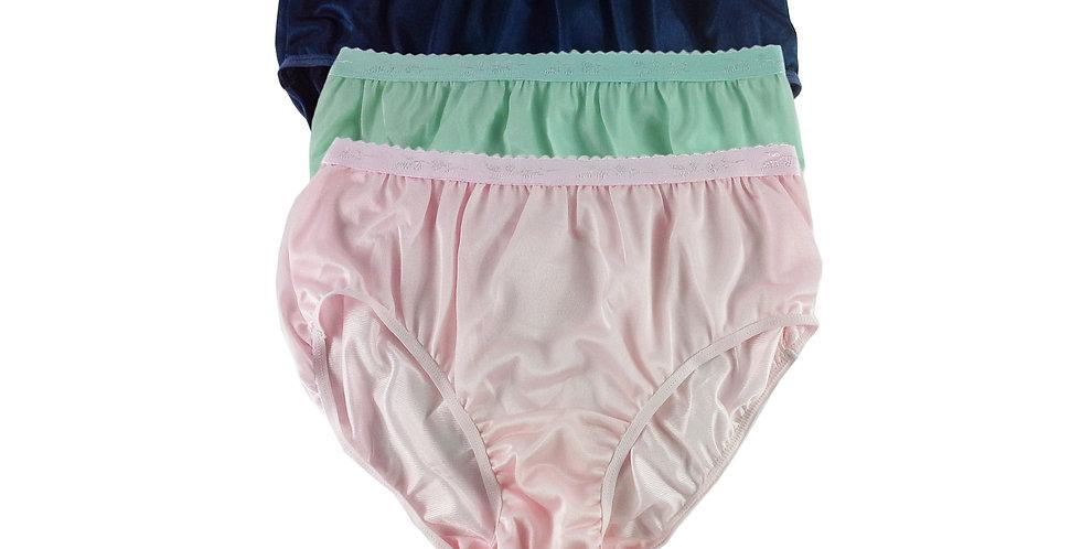 CKTK07 Lots 3 pcs Wholesale New Nylon Panties Women Undies Briefs