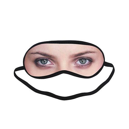 EOL311 Sad Scarlett Johansson Eye Printed Sleeping Mask