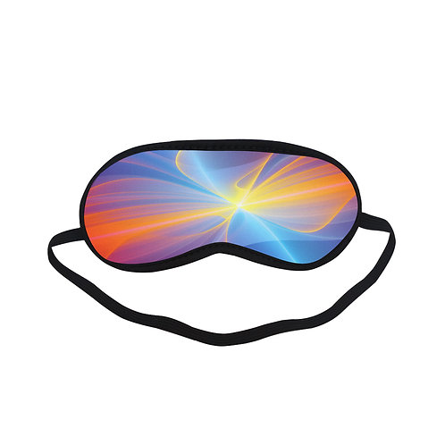 PTEM018 colourful Abstract  Eye Printed Sleeping Mask