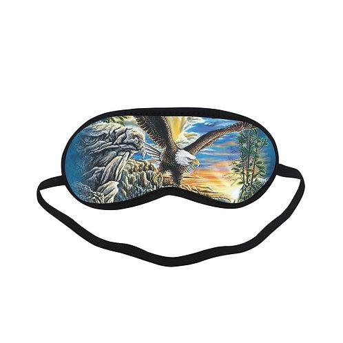 ATEM221 eagles Art Eye Printed Sleeping Mask