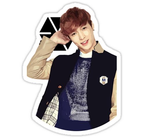 EXO - Lay SSTK072 K-Pop Music Brand Car Window Decal Sticker