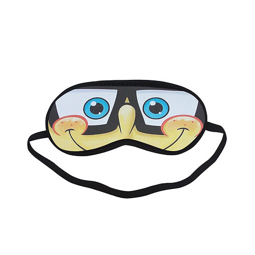BTEM410 Sponge Bob Square Pants Eye Printed Sleeping Mask