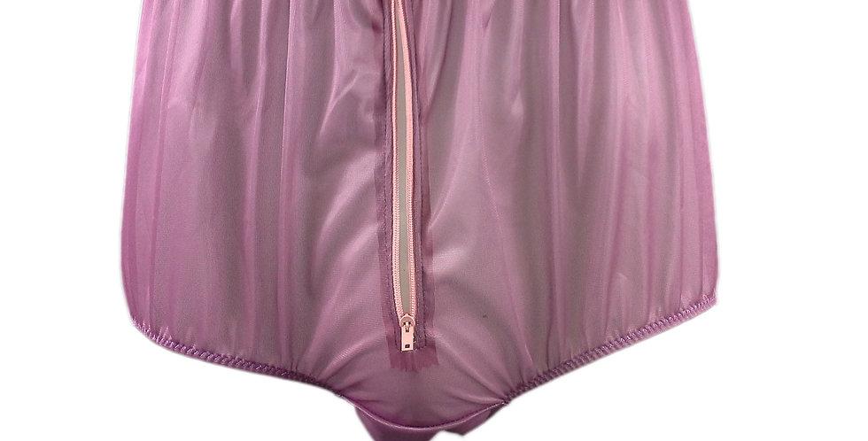 NNH03P06 deep pink Handmade Panties Lace Women Men Briefs Nylon Knickers