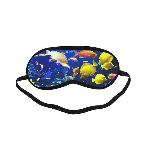 PTEM271 Undersea Fish Eye Printed Sleeping Mas