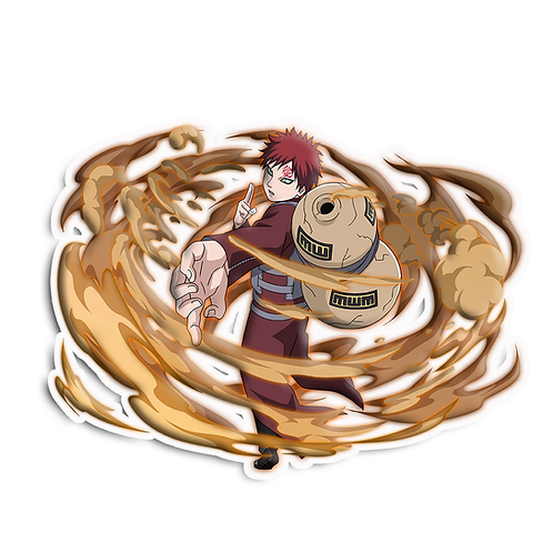NRT62 Gaara Fourth Kazekage Naruto anime sti