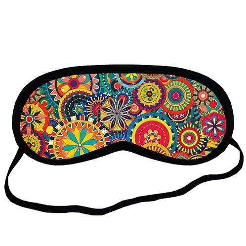 EYM1003 Colorful Floral Pattern Eye Printed Sleeping Mask