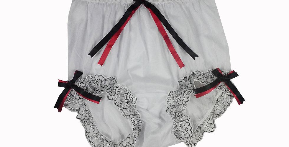 NNH11D132 Handmade Panties Lace Women Men Briefs Nylon Knickers