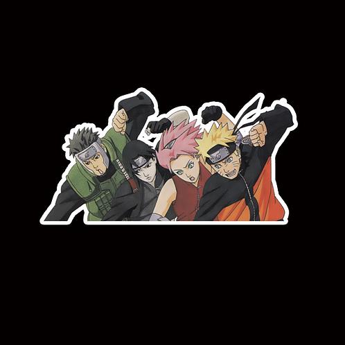 NOR179 Yamato Sai Sasuka Naruto Peeking anime sticker Car Decal Vinyl Window