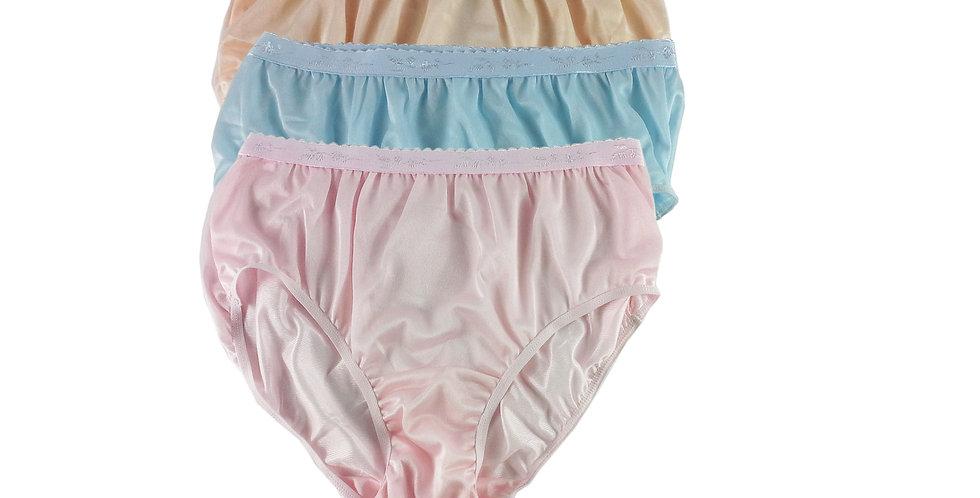 CKTK19 Lots 3 pcs Wholesale New Nylon Panties Women Undies Briefs