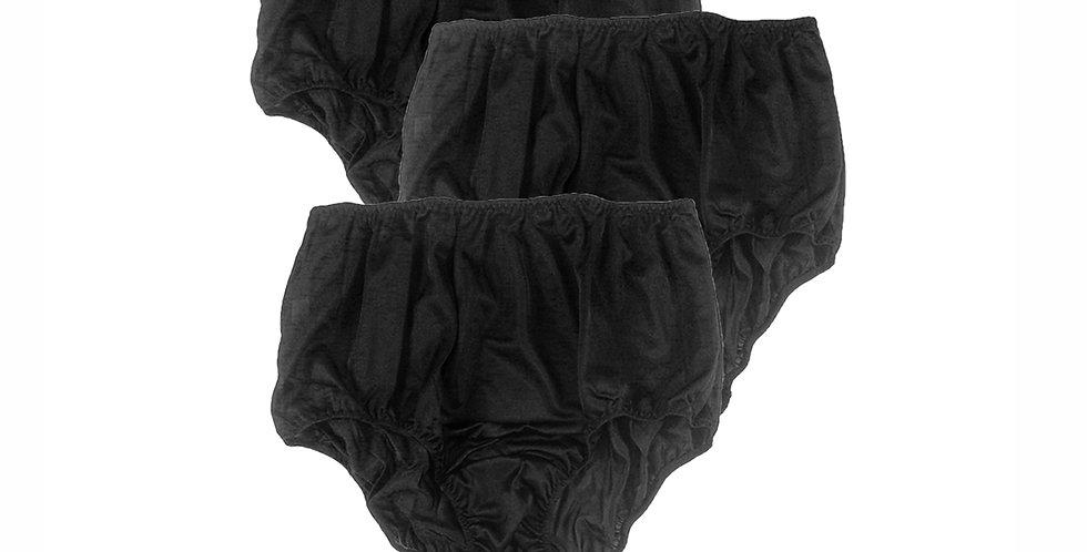 BBT01 black Lots 3 pcs Wholesale New Nylon Granny Panties Women Knickers