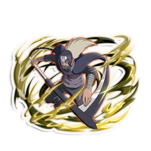 NRT90 Hanzo of the Salamander venom Naruto anime sti