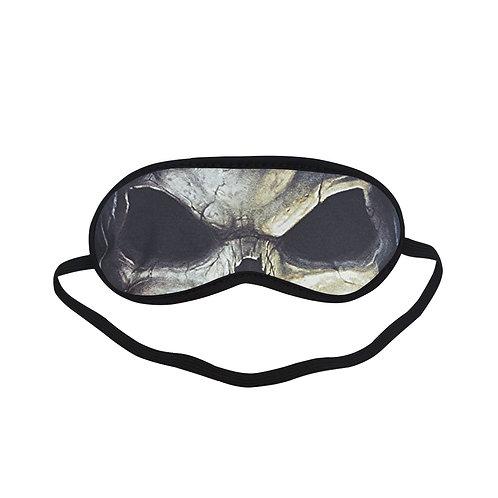 ATEM208 Face Death Skull Eye Printed Sleeping Mask