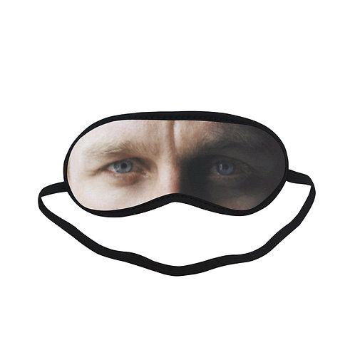 JTEM124 Daniel Craig Eye Printed Sleeping Mask