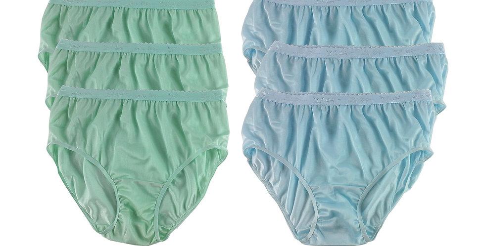 CKSL08 Lots 6 pcs Wholesale New Nylon Panties Women Undies Briefs