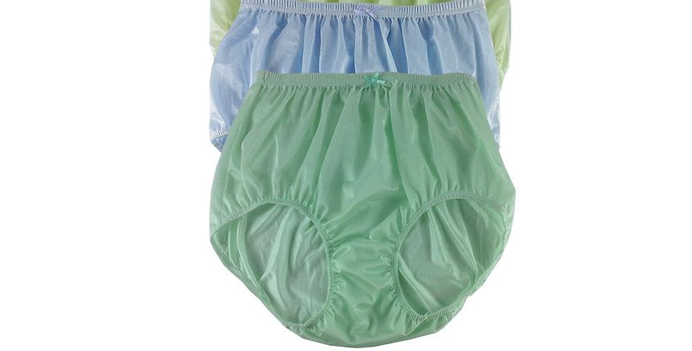 NQTD11 Lot 3 pcs Wholesale New Panties Granny Briefs Nylon Men Women