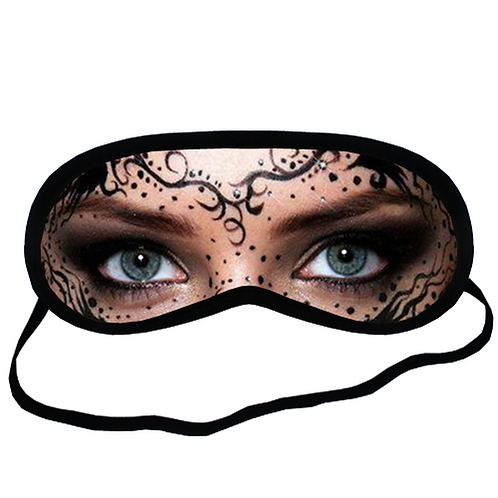 EYM1752 ART MAKEUP Eye Printed Sleeping Mask