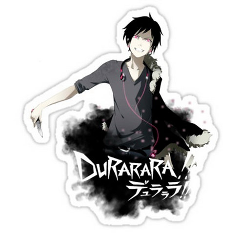 SRBB0722 Izaya is on the beat Durarara anime sticker
