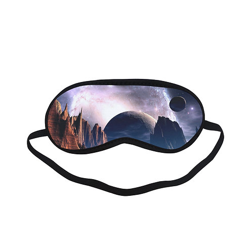 PTEM318 Space world Eye Printed Sleeping Mas