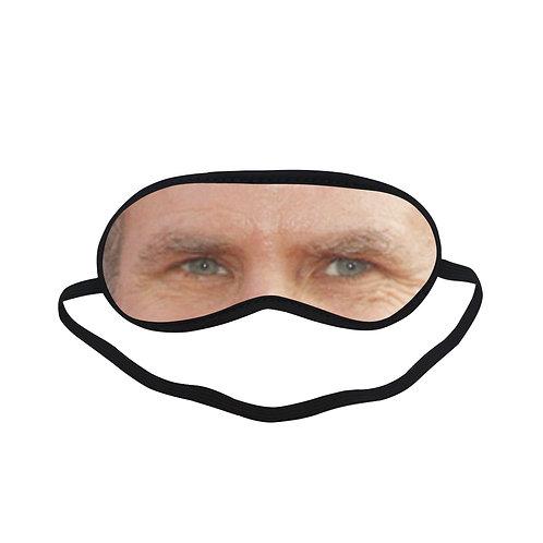 EOL348 Will Ferrell Eye Printed Sleeping Mask