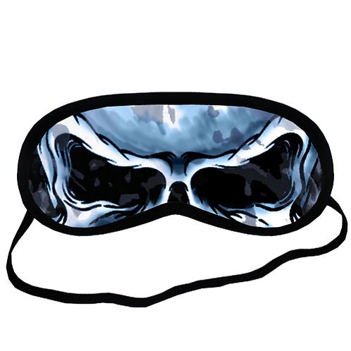 EYM329 Hells skull Eye Printed Sleeping Mask