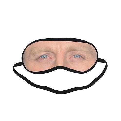 EOL081 Daniel Craig Eye Printed Sleeping Mask