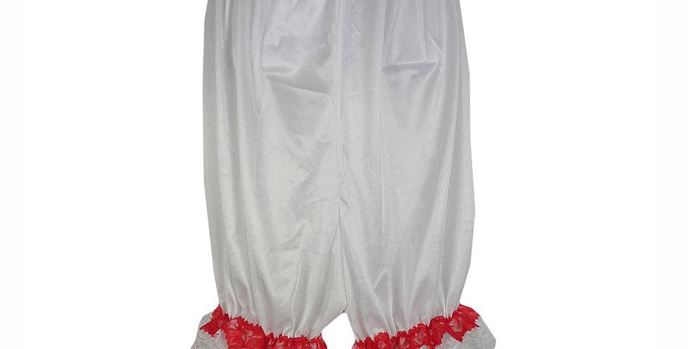 PTPH04D02 white New Nylon Pettipants Women Men Slips Lace Lingerie