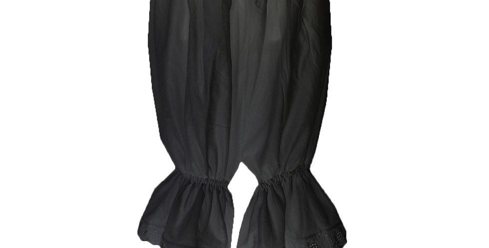 PCPH02 black Cotton Pettipants Women Slips Lace Lingerie Underwear